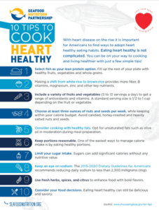 10 Tips to Cooking Heart Healthy