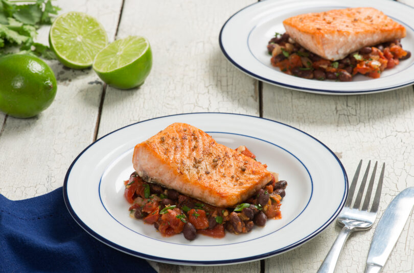 Slowing Down with Slow Roasted Salmon