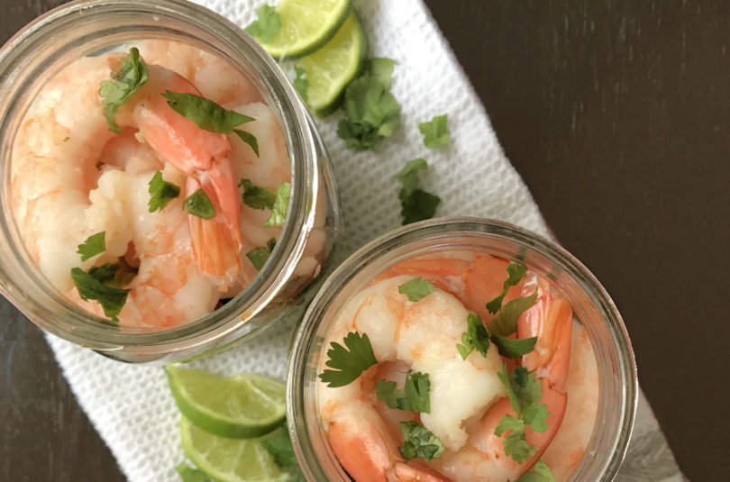 Shrimp Salsa Salad