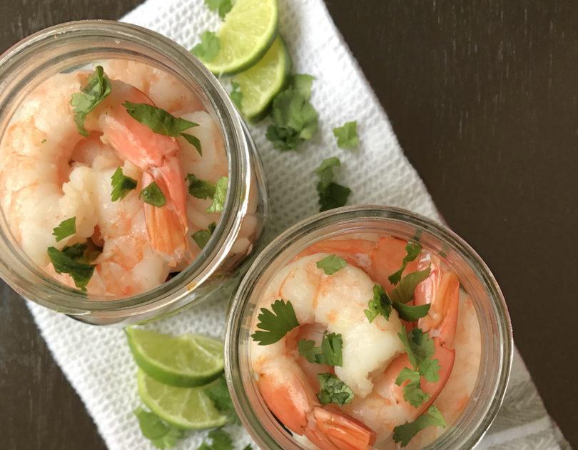 Shrimp Salsa Salad