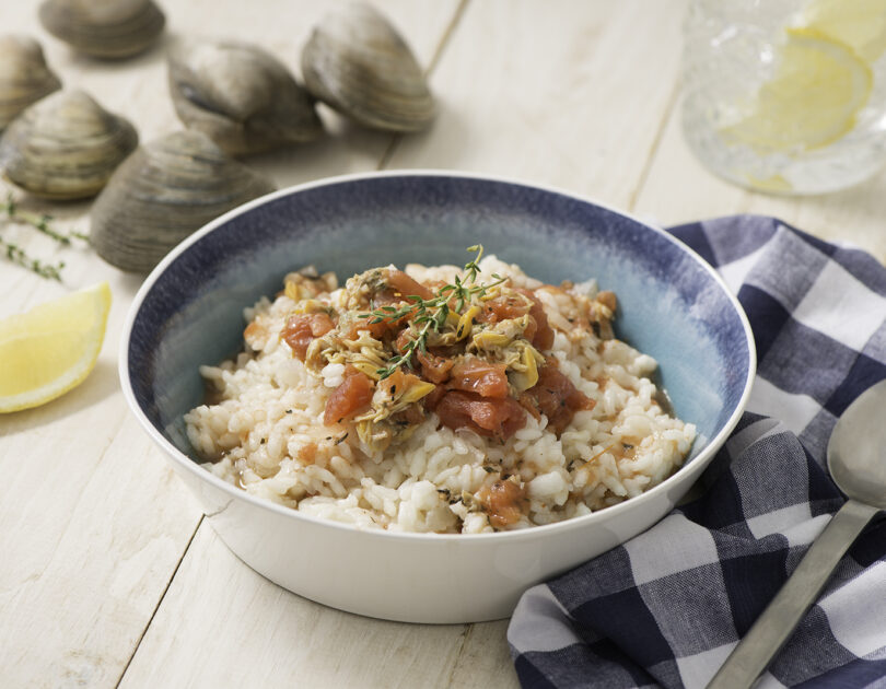 Risotto with Clam Sauce