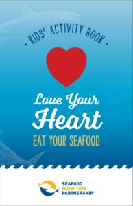 Seafood Kids' Activity Booklet