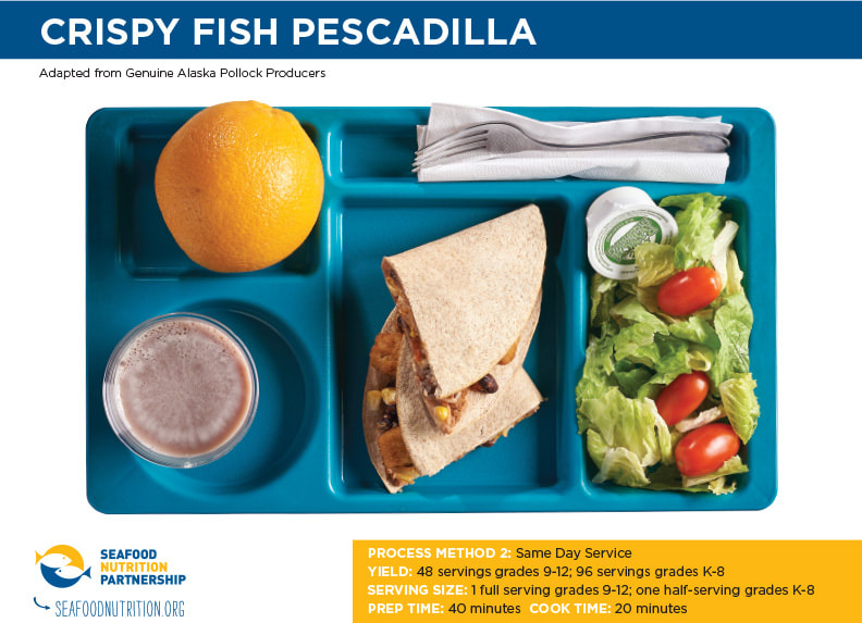 Crispy Fish Pescadilla