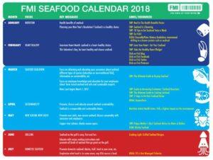 FMI Monthly Seafood Calendar