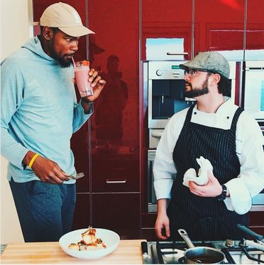 NBA MVP Kevin Durant's Winning Diet: Fish and Vegetables Before Games