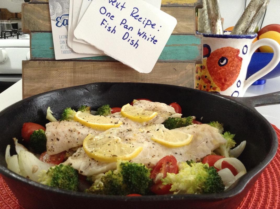 One Pan Fish Dish