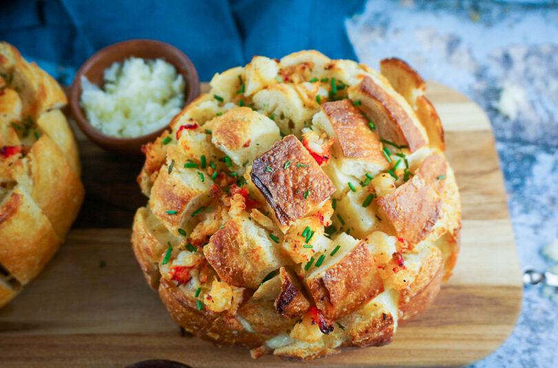 Lobster Pull Apart Bread