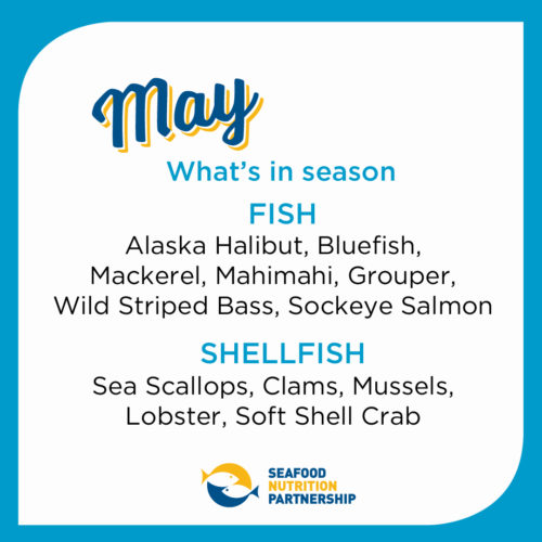 Seafood Seasonality in May