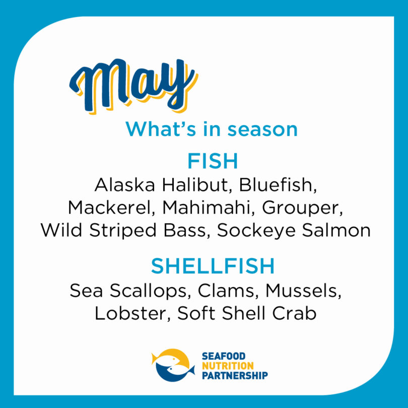 Seafood Seasonality in May