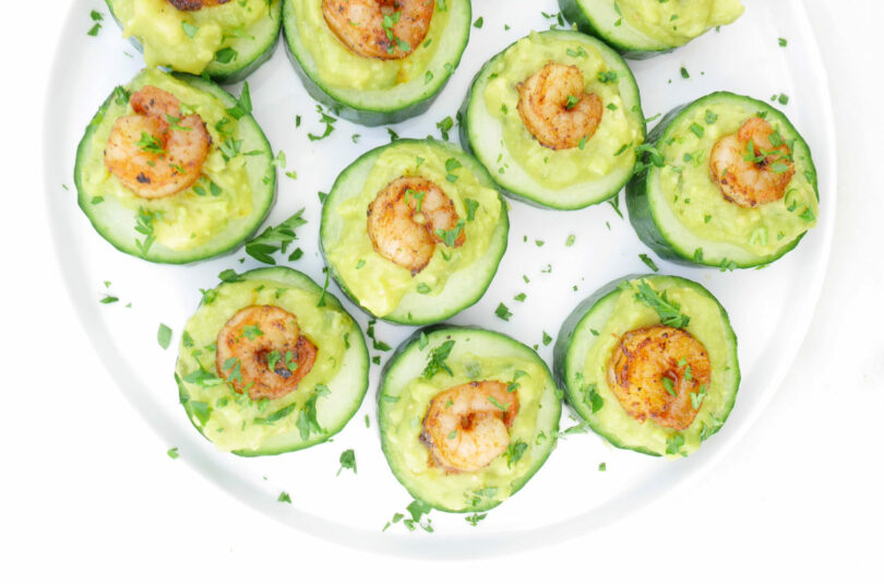 Avocado Shrimp Bites