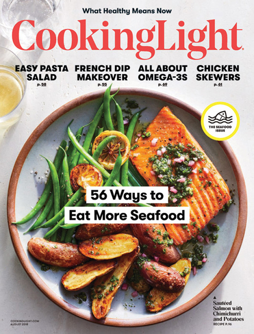ICYMI: Cooking Light's August Issue – All About Seafood!