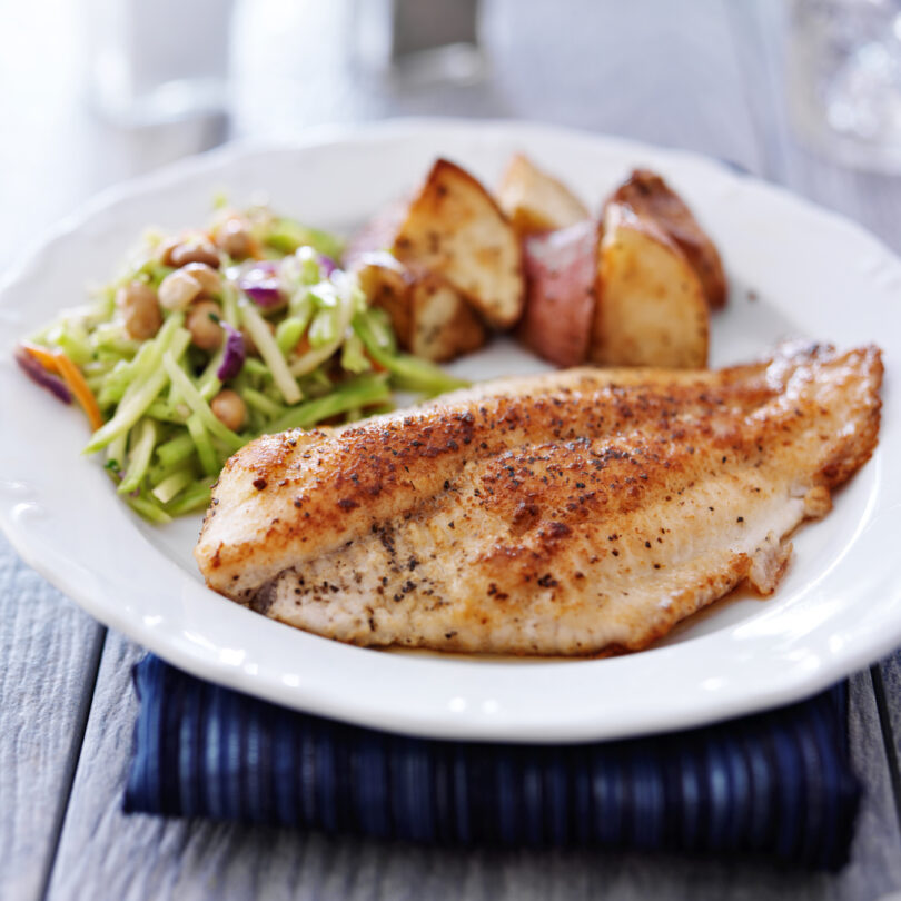 Blackened Fish Quickly Livens Up a Weeknight Meal