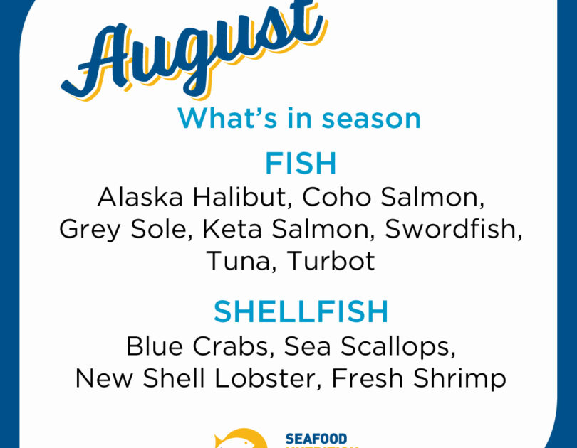 Seafood Seasonality in August