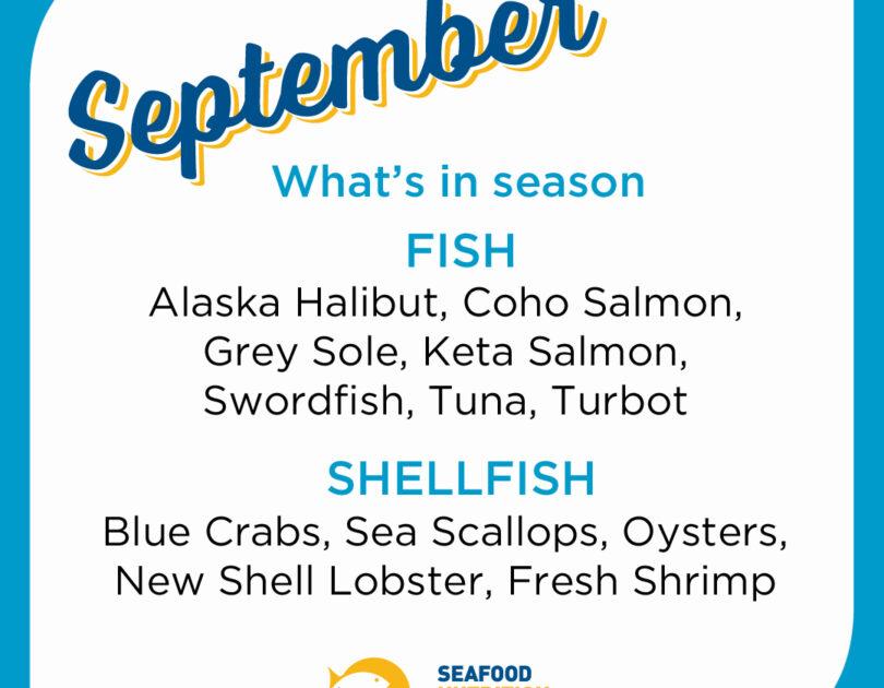Seafood Seasonality in September