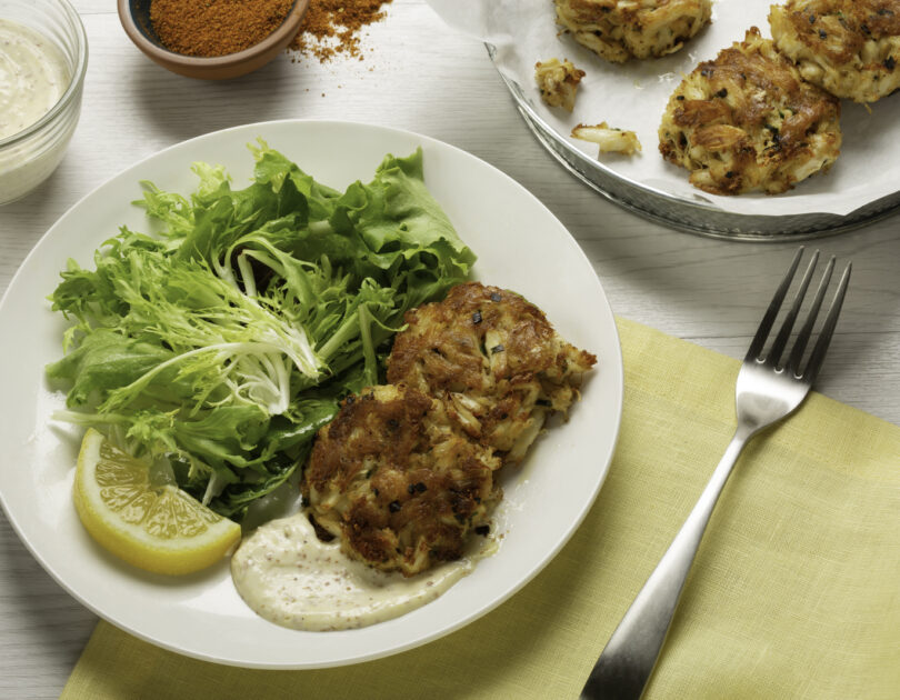 Crab Cakes with Homemade Remoulade