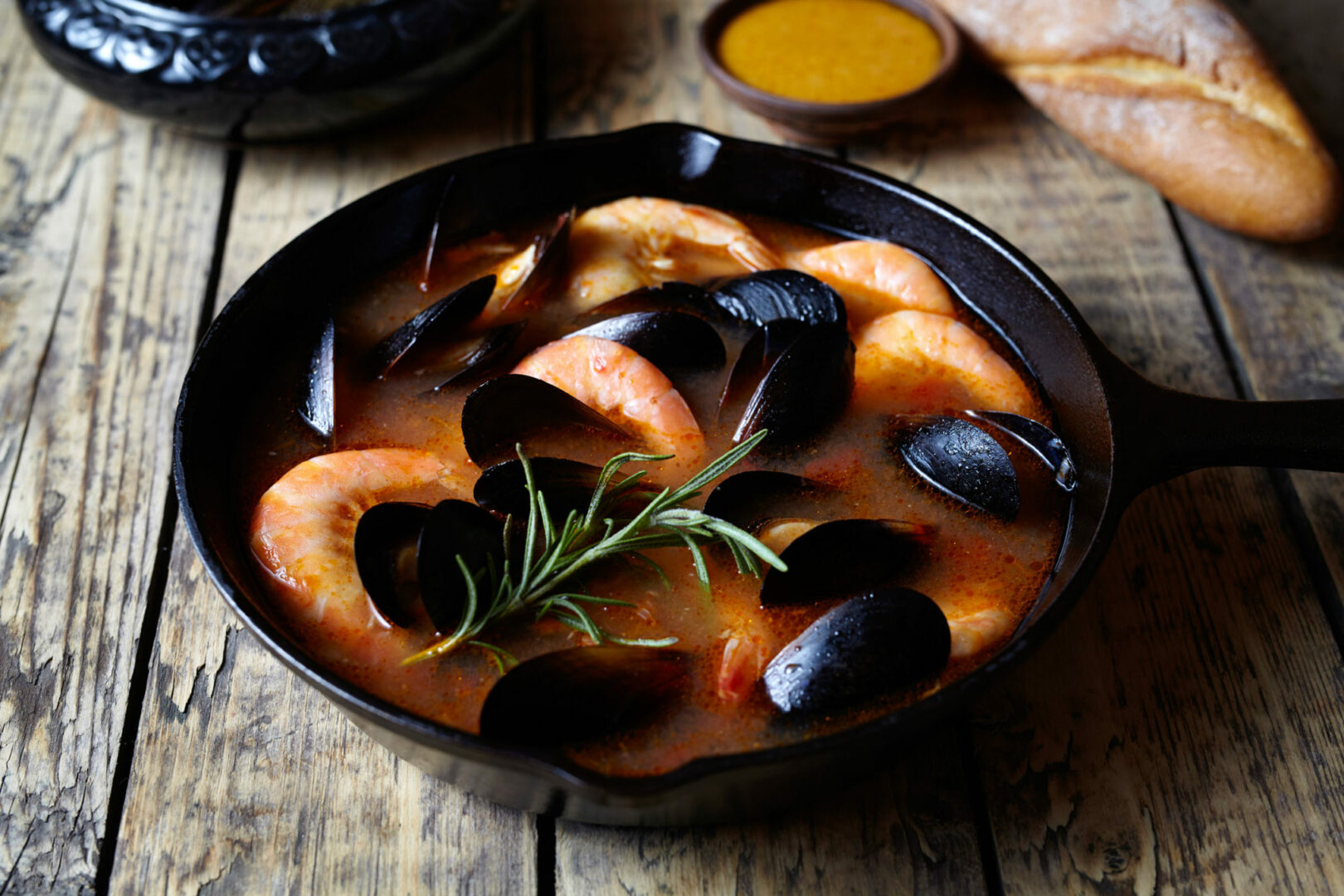 Seafood Stew with Butternut Squash and Fennel