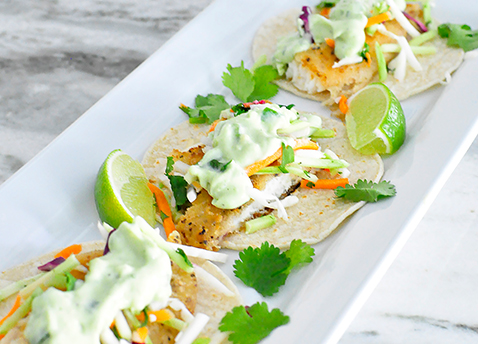 Healthy Tilapia Fish Tacos