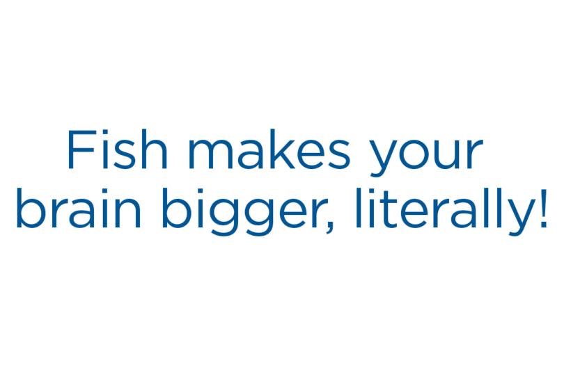 Seafood for Kids: Big Brains