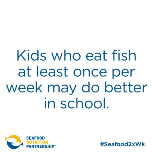 Seafood for Kids: Better Grades