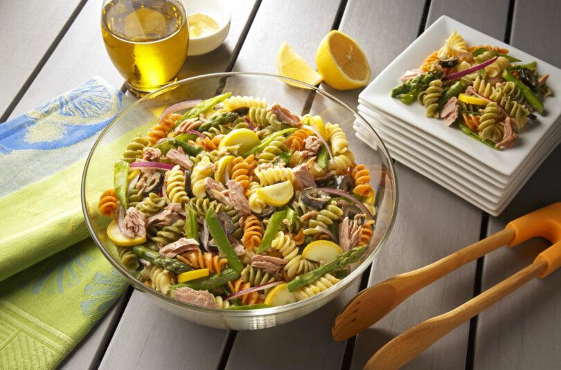 Spiral Pasta Tuna Salad