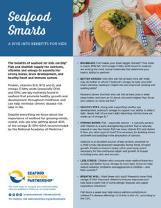 Seafood Smarts - Benefits for Kids