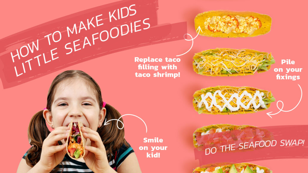 Getting Kids to Eat More Seafood tip: Do the seafood swap