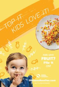 Getting Kids to Eat More Seafood tip: Top It. Kids Love It!