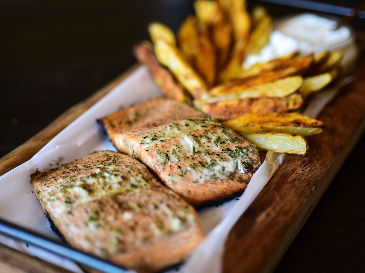 A Ranch Twist on Fish 'n Chips
