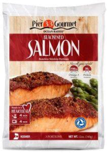 Pier 33 Gourmet salmon