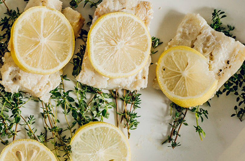 Foil Packet Lemon & Herb White Fish