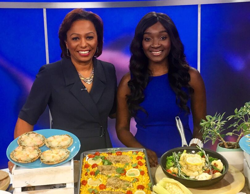 SNP Dietitian on Good Morning Washington for National Seafood Month!