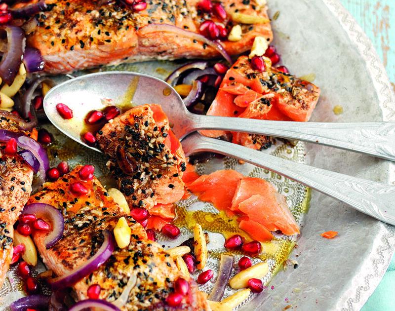 Salmon Sharing Platter