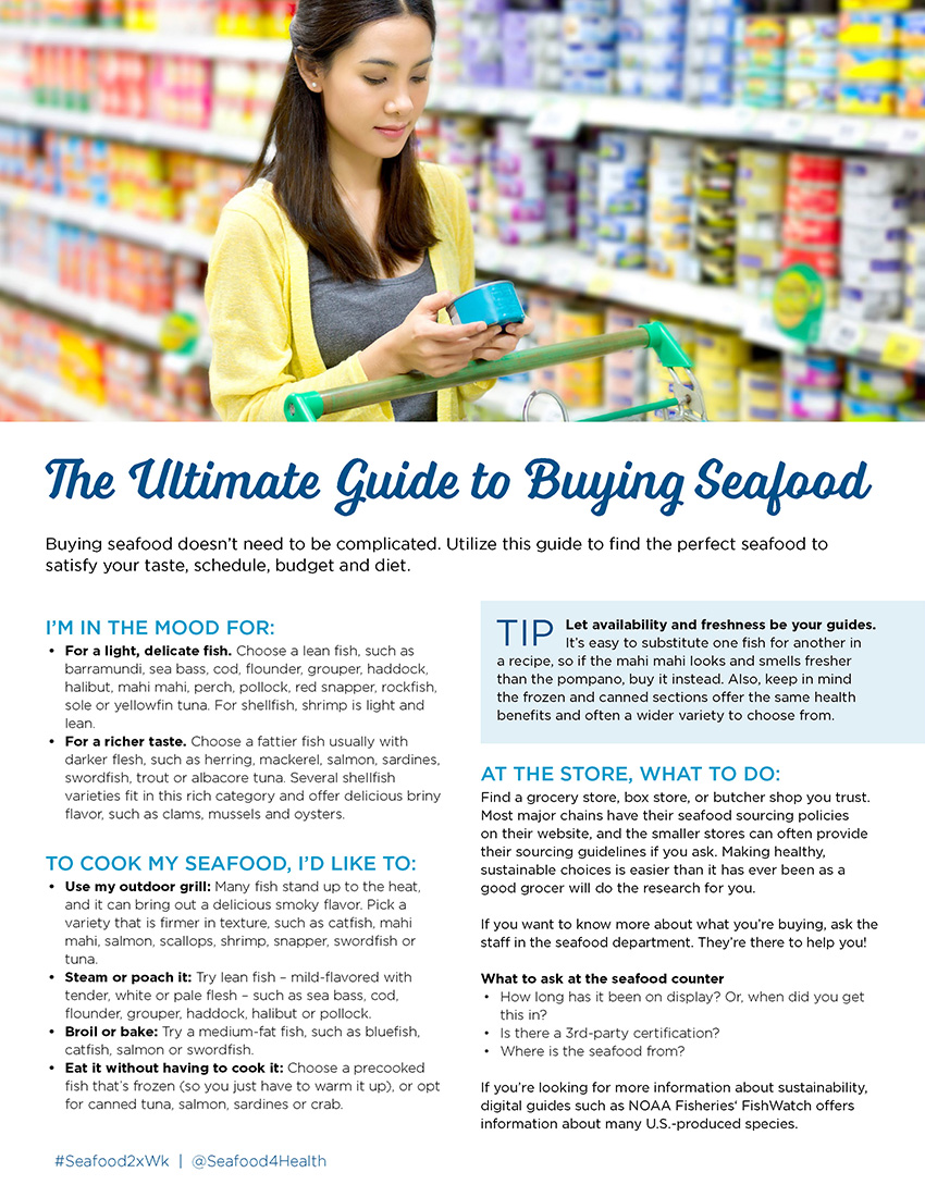 The Ultimate Guide to Buying Seafood