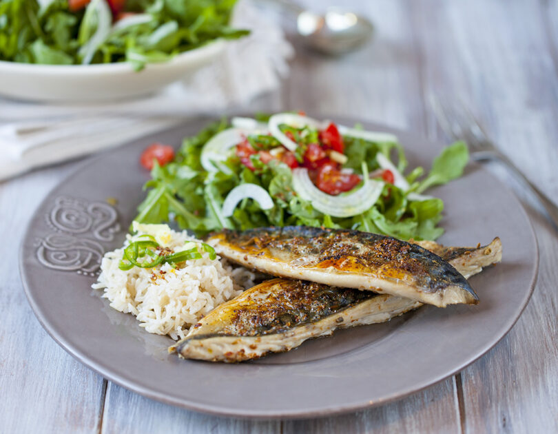 Herb-Broiled Mackerel
