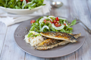 Herb Cruted Mackerel recipe by NOAA