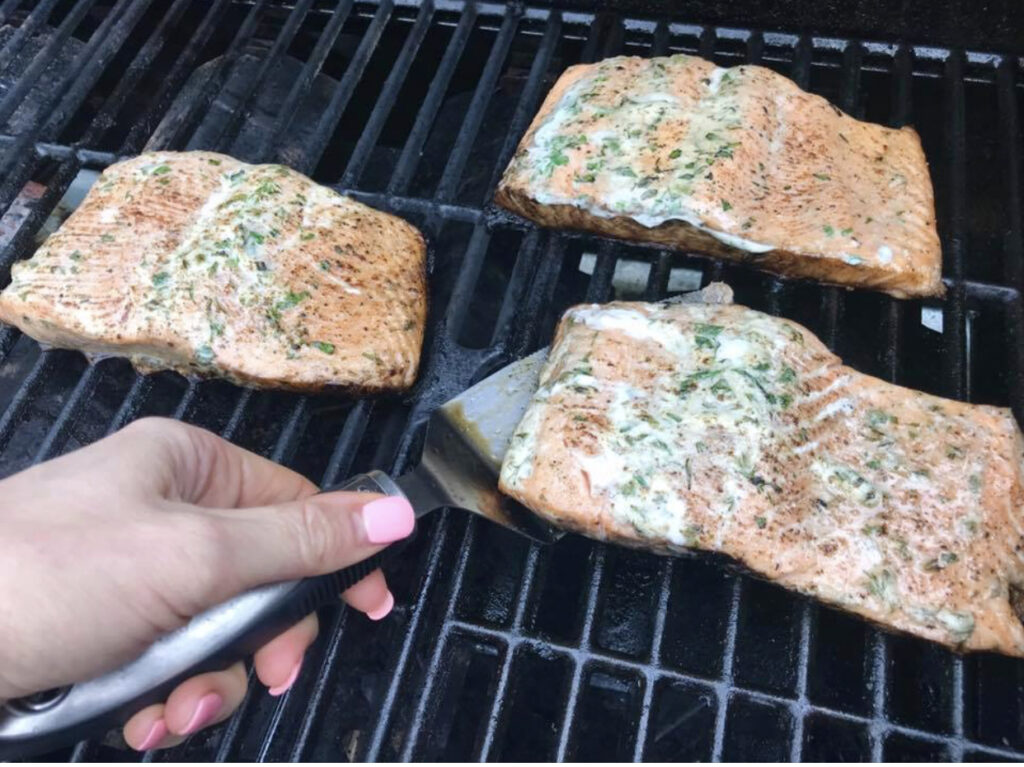 Grilling is just one easy way for cooking fish.