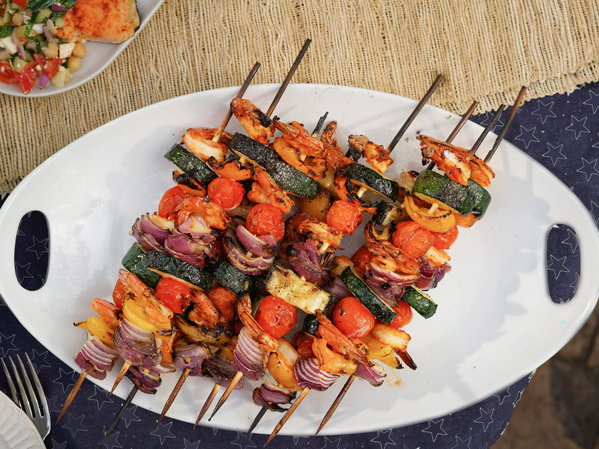 Easy Shrimp Skewers by Annessa Chumbley