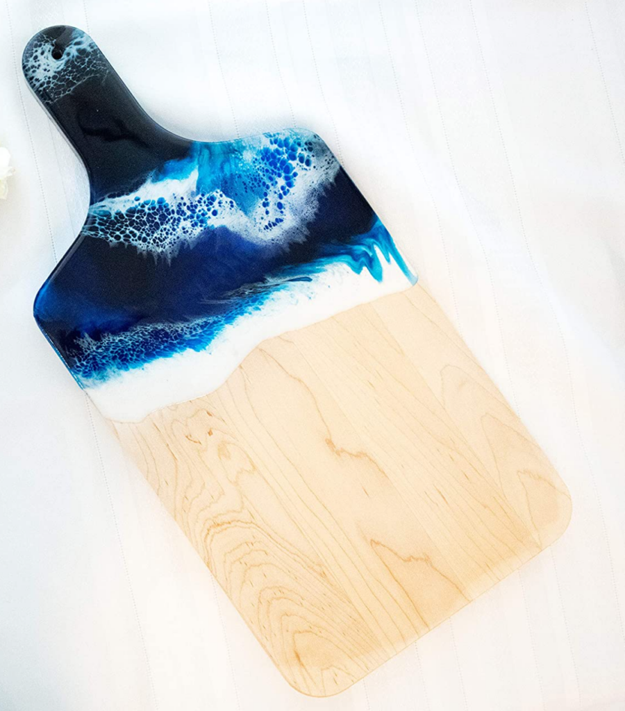 ocean cutting board from amazon