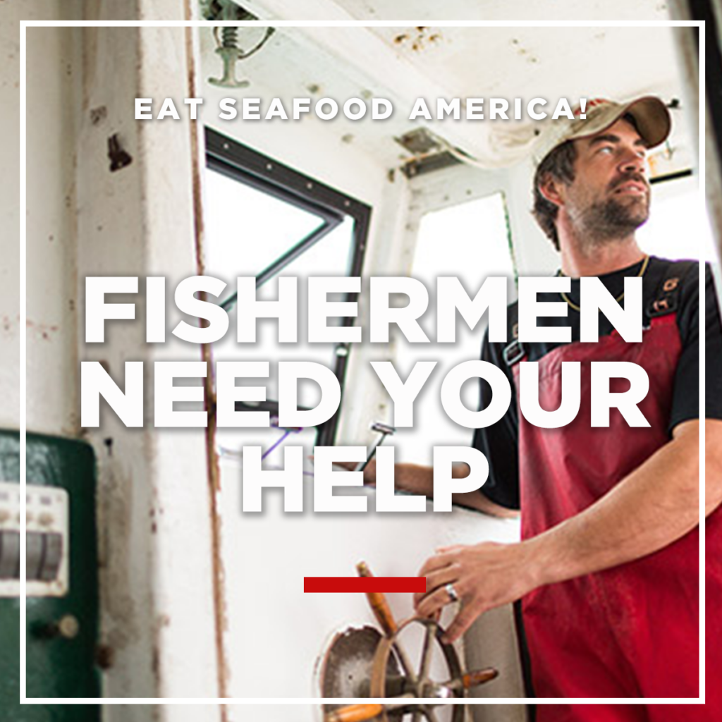 Eat Seafood America! to help fishermen
