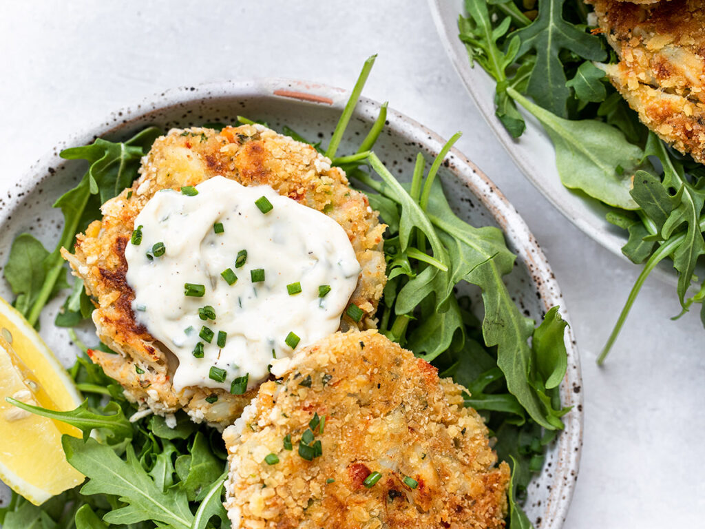 Maryland Crab Cakes recipe by Tawnie Graham of Kroll's Korner