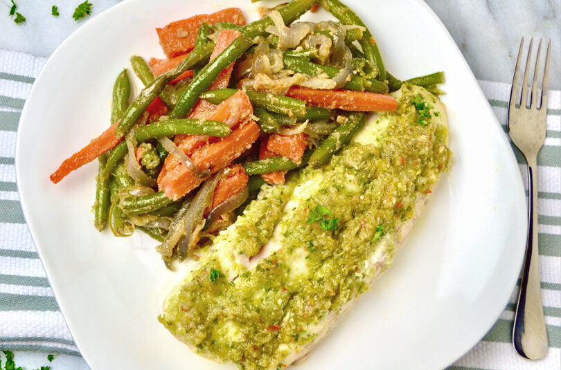 Easy Baked Red Snapper