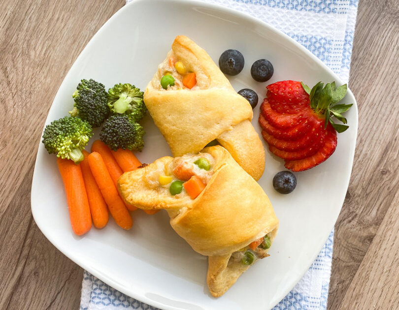 Tuna Crescent Rolls: Perfect for Toddler Food