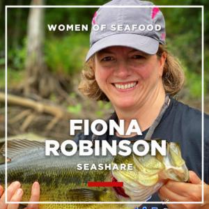 Fiona Robinson, SeaShare