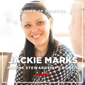 Jackie Marks, Marine Stewardship Council