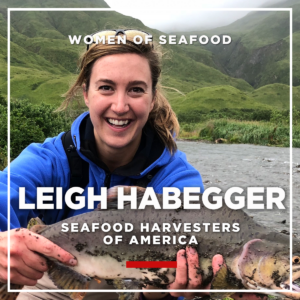 Leigh Habegger, Seafood Harvesters of America