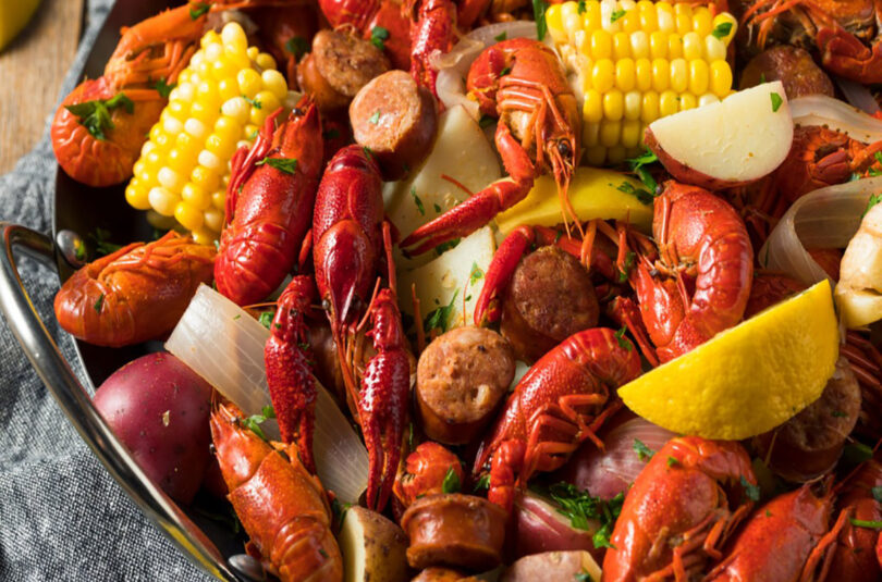 Low Country Crawfish Boil