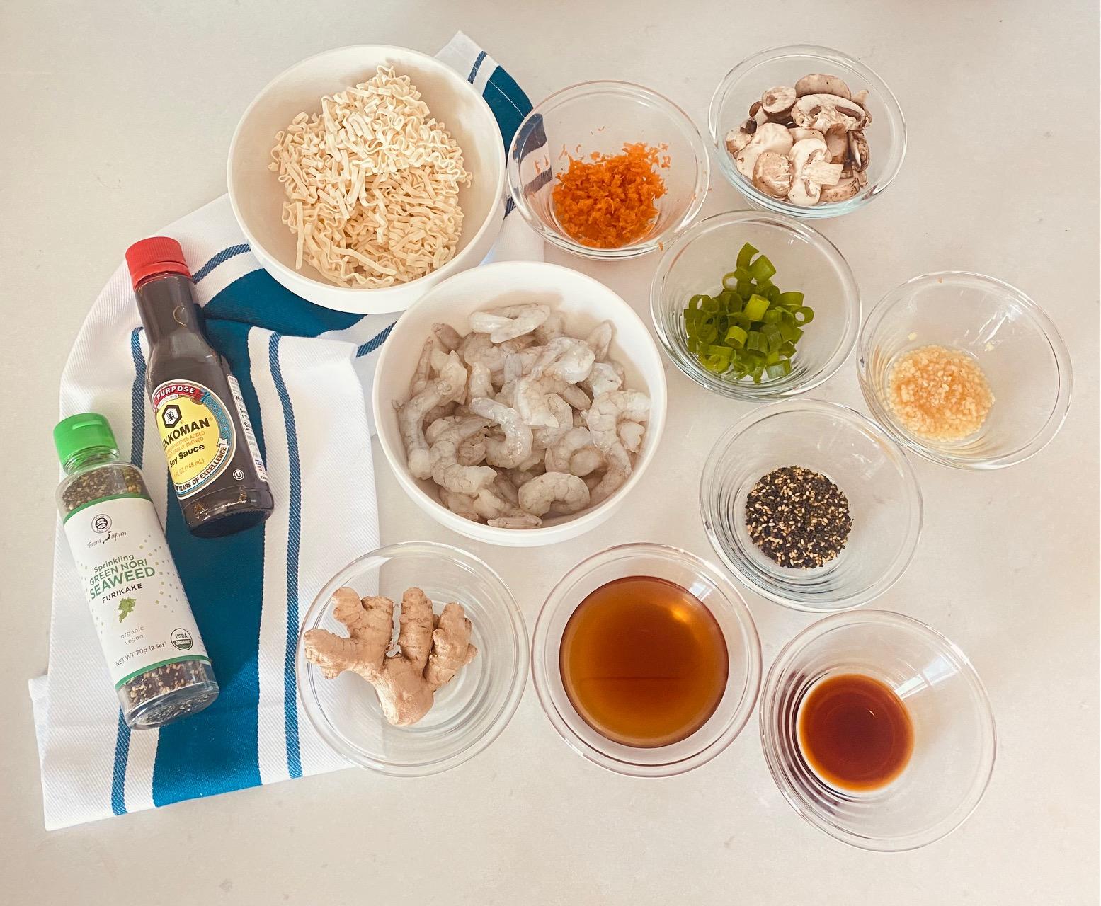 Easy Homemade Ramen with Shrimp