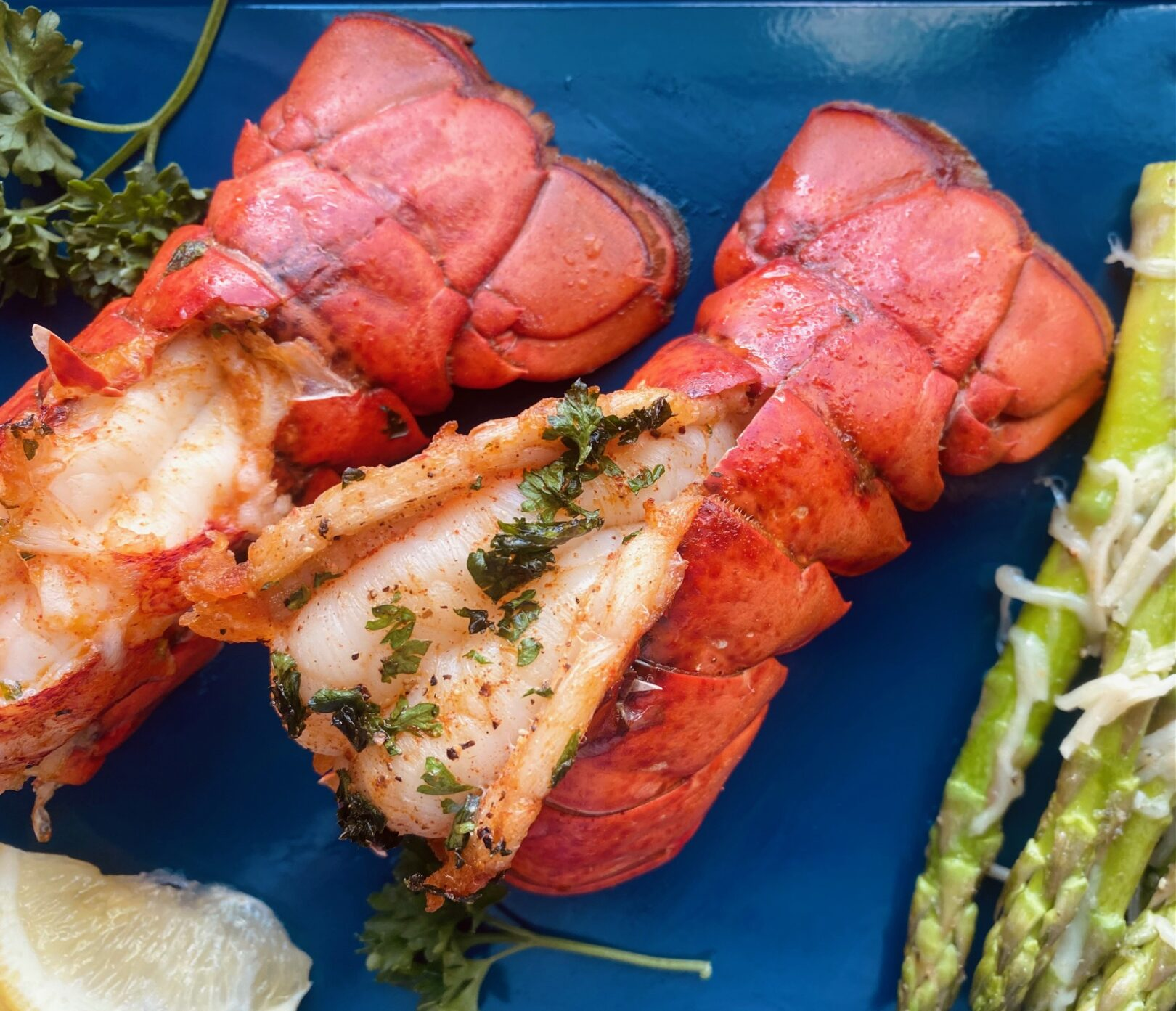 Air Fryer Lobster