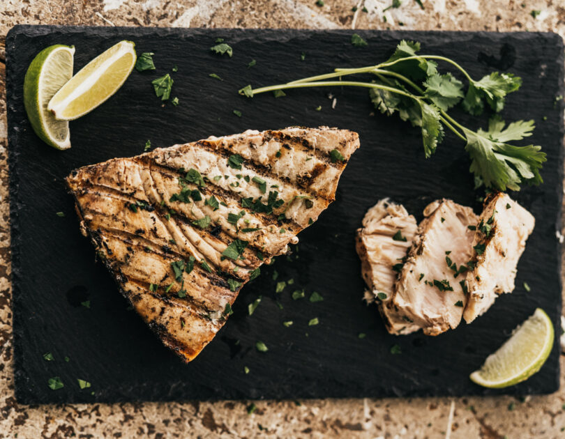 Cilantro Lime Swordfish