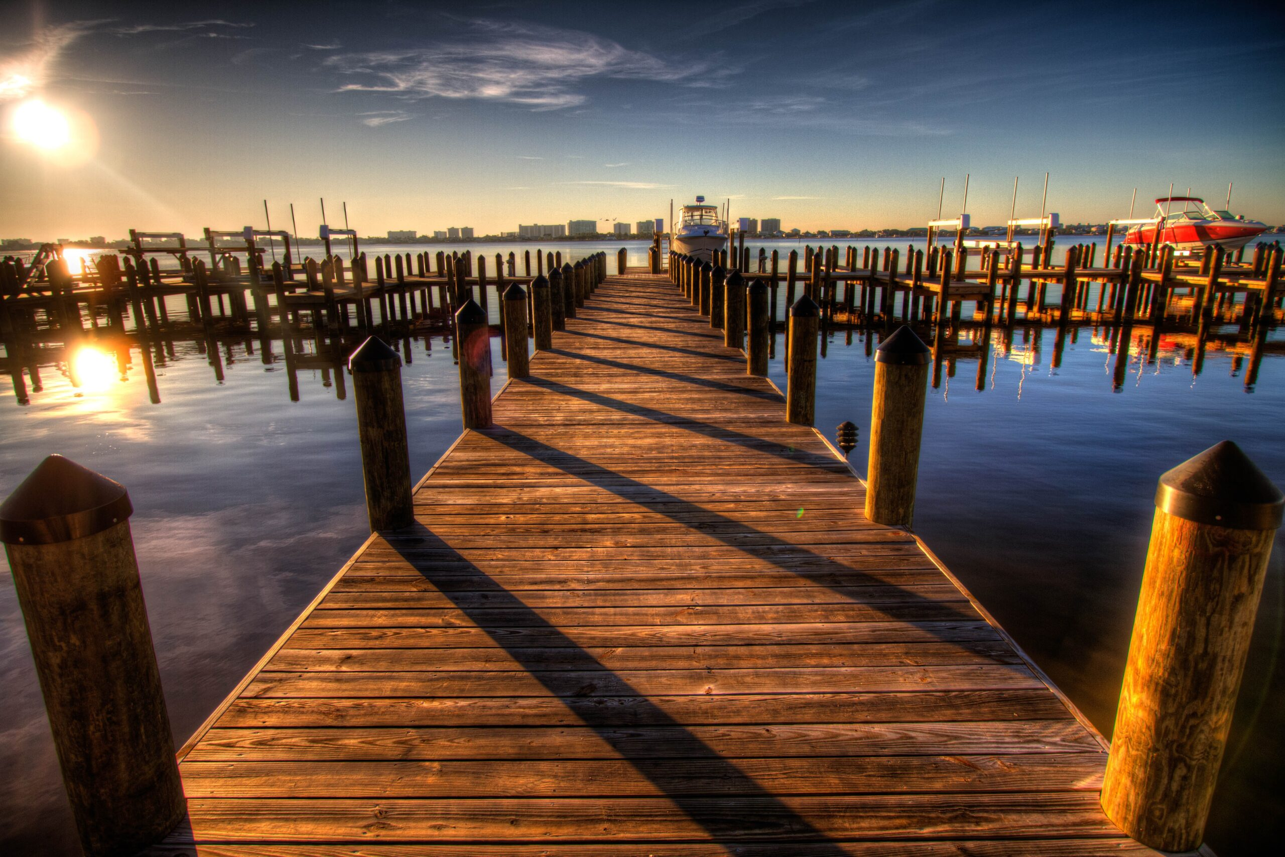Stock image of pier for National Seafood Council Task Force